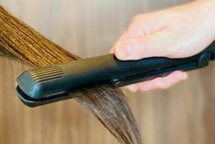 髪の毛に合わせた薬剤と熱処理の温度