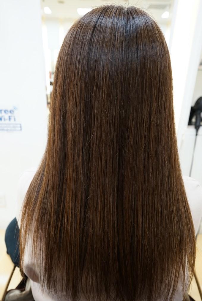 MISONO美容室の縮毛矯正の仕上がり例 その3