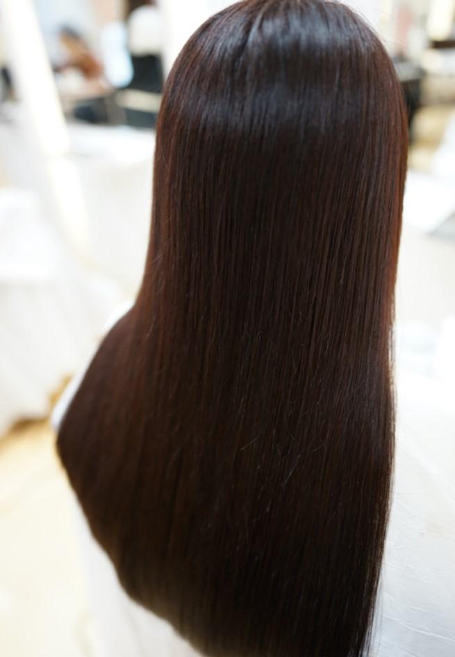 MISONO美容室の縮毛矯正の仕上がり例 その4