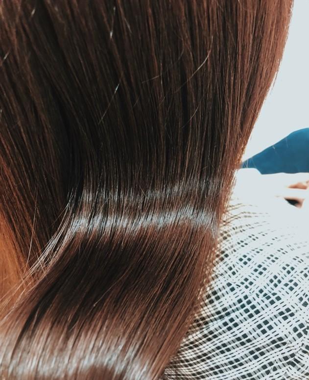 MISONO美容室の縮毛矯正の仕上がり例 その13