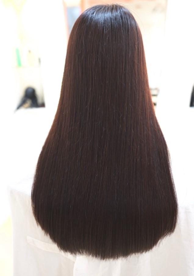 MISONO美容室の縮毛矯正の仕上がり例 その22